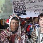 Con la comunidad de patabamba
