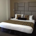 King size bed - one bedroom apartment