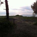 Il tramonto dal Ristorante