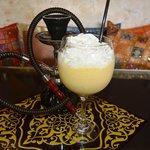 "arabic smoothie with ""arak"""