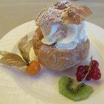 Dessert as tastey as it looked!