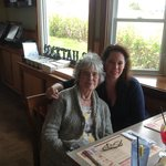 My 83yr old Mama and I inside Fox's Lobster House 5/2014