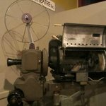 The old projector from 1945, which was used till November 20th, 2013!