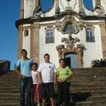 igreja N S Rosário Ouro Preto MG