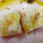 Orange infused olive oil with brown sugar. Mmmmm