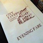 City Tavern Menu