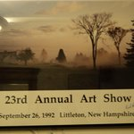 Picture from Annual Art Show, 1992