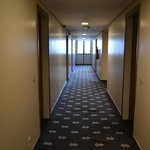 Corredor entre os quartos