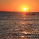 sunset at lady elliott island