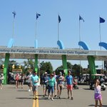 Entrance/Exit at MN State Fairgrounds