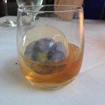 nasturtium whisky cube - amazing!!