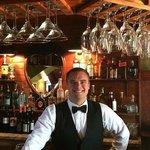 Kyle, the bartender extraordinaire