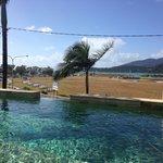 Great pool - fab views
