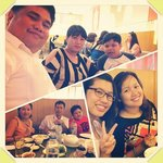 With my family and friends from Philippines.