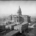Early 1900s View of the Denver Capitol Building from the Newhouse Hotel