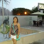 Siren Fountain Courtyard