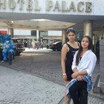Meine Kinder waren vom Hotel Palace begeistert