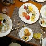 メリアホテルの朝食