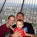 The family up on the top!
