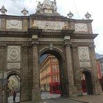 Innsbruck - Triumphal Arch (Triumphpforte) - Maria-Theresien-Strasse