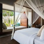 Each guest room is a private oasis