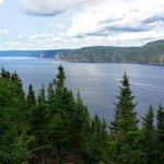 Le fjord de l'Anse St Jean
