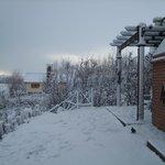 Nieve en el apart