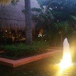 Night shot in hotel