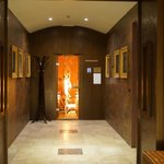 sauna corridor