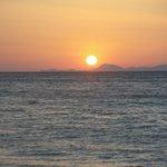 Coucher de soleil sur la Turquie