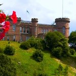 Inverness castle at Inverness