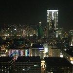 Ночной вид 23 этаж