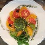 Méli Mélo de tomates gourmande et mozzarelle de Buffala