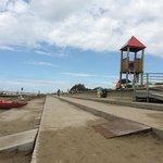 Schöner, gepflegter Strandbereich