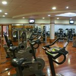 The Hotel Gym which is free to all guests