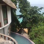 Princess Pool Villa view plus private plunge pool