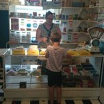 Purchasing a bag of sweets