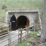 The tunnel from the lakeside