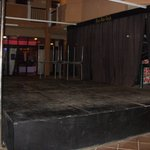 Derelict entertainment area
