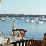 View from Hostal La Savina restaurant