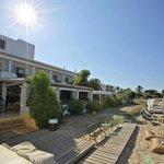 Hostal La Savina beach