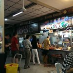 The wonton noodle stall