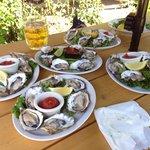 Fresh Fanny Bay Oysters