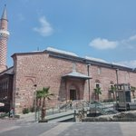 Outside of the mosque