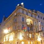 Hotel Nachtansicht