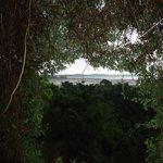 View from the room, Kandala wewa/tank