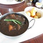 Local lamb & Black pudding casserole