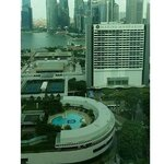 View from the 27th floor facing Marina Bay