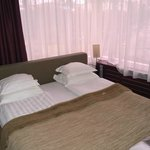Bed in suite