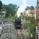 Taking on water at Bishops Lydeard